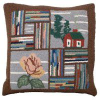 Booth Bay Cabin Pillow