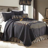 Moonlit Cabin Quilt Set
