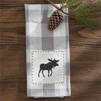Moose Patch Dishtowel