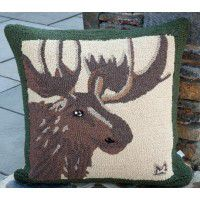 Great Moose Over Size Pillow