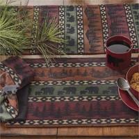 Mountain Bear Table Linens