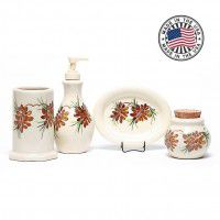 Mountain Pine Bathroom Set