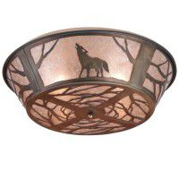 Wolf Ceiling Light