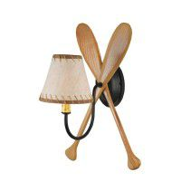 Rustic Paddles Sconce