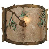 Balsam Pine Wall Sconce