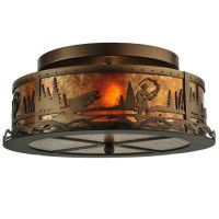 Fish Creek Flushmount Ceiling Light