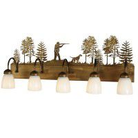 Quail Hunter Vanity Light