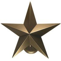 Texas Star Wall Sconce