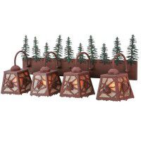 Spruce Pine Quad Vanity Light