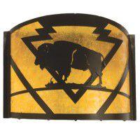 Buffalo Sconce