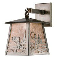 Bass Creek Hanging Wall Sconce