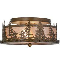 Pine Tree Ceiling Light