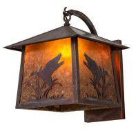 Stillwater Duck Curved Arm Wall Sconce