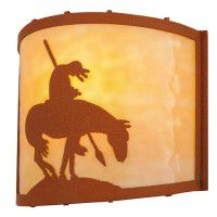 Trail's End Wall Sconce Earth