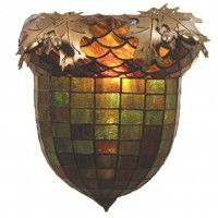 Acorn and Oak Sconce-Multi