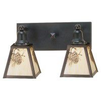 Pine Cone Vanity Lights - 3 Sizes Available