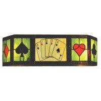 Texas Hold'em Vanity Light