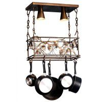 Pinecone Pot Rack