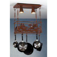 Fly Fisherman Pot Rack