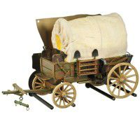 Covered Wagon Wall Sconce