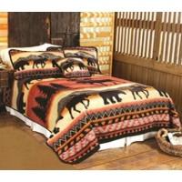 Northern Territory Fleece Bed Set-King