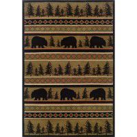 Bear Forest Area Rugs