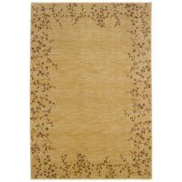 Wheat Tiny Branches Area Rugs