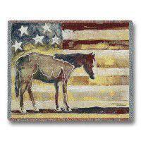 American Horse Afghan