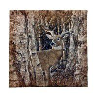 Birchwood Buck Wall Hanging
