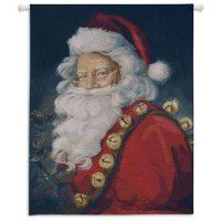 St. Nick Christmas Wall Tapestry
