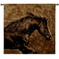 Eastward Gallop Horse Wall Tapestry