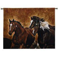 Ready to Run Horse Wall Tapestry