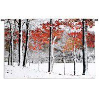 Early Snowfall Wall Tapestry