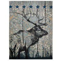 North Slope Elk Wall Hanging