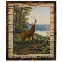 Lakeside Elk Wall Hanging
