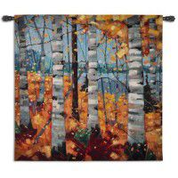 Border View - Birch Tree Tapestry