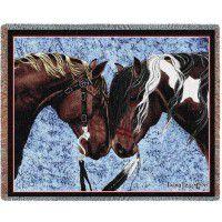 Warrior Truce Horse Afghan