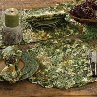 Forest Retreat Place Mats and Table Linens
