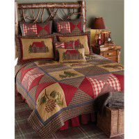 Country Cabin Luxury King Quilt