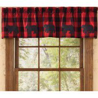 Buffalo Bear Valance