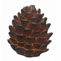 Pine Lodge Pinecone Napkin Ring - Set of 4