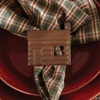 Country Cabin Napkin Ring