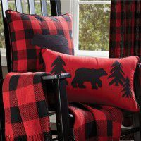Buffalo Bear Pillows