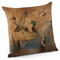 "Mallard and Pintail 18"" Decorative Pillow -CLEARANCE"