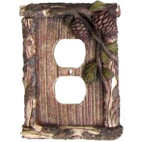 Pine Cone & Twig Switch Plate Covers
