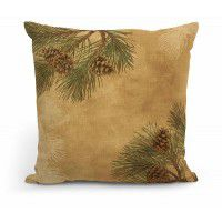 "Pinecones 18"" Decorative Pillow"