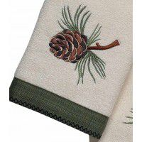 Pine Creek Pine Cone Towel Set- 3 Pcs