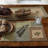 Pineview Placemats Set of 4
