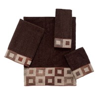 Mission Block Mocha Towel Collection
