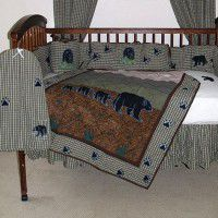 Bear Country Crib Set